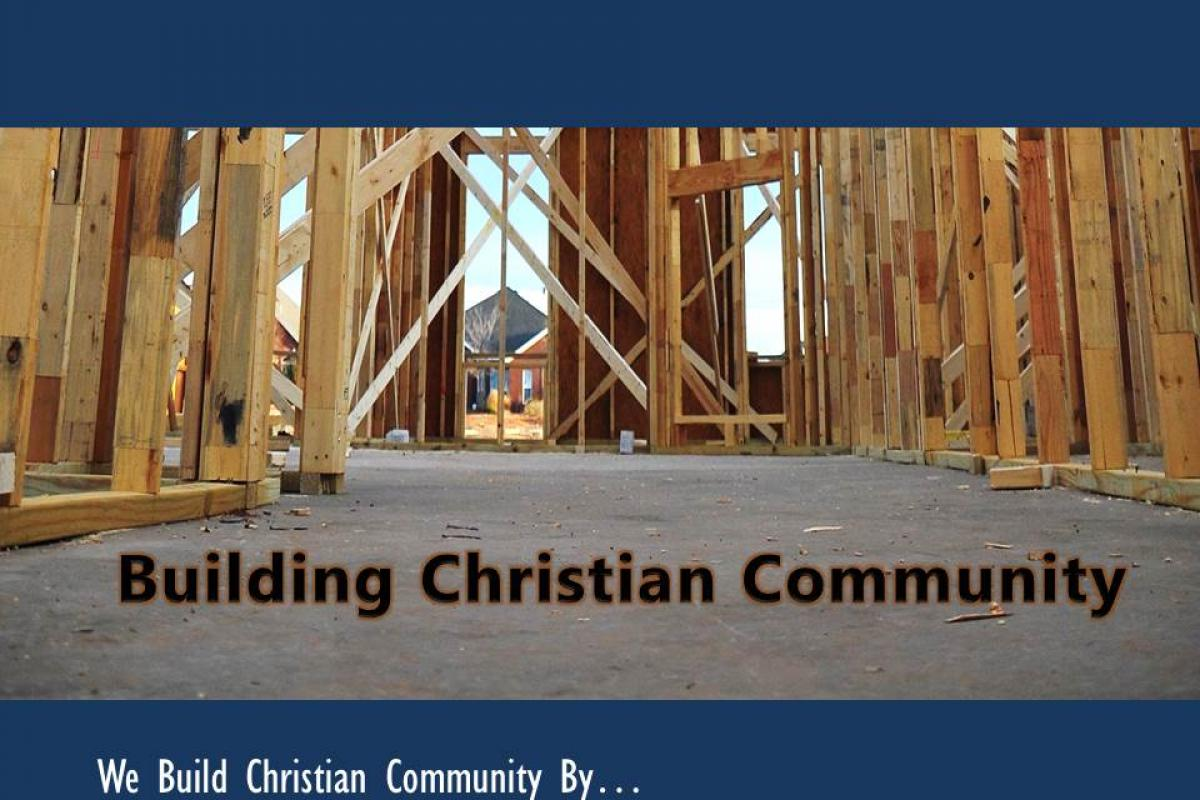 Building Christian Community: Humility