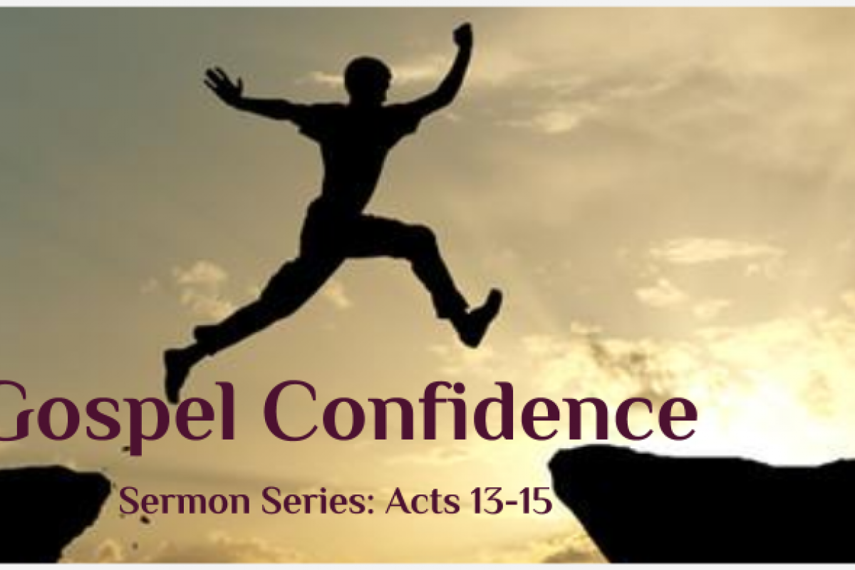Confidence in His Grace