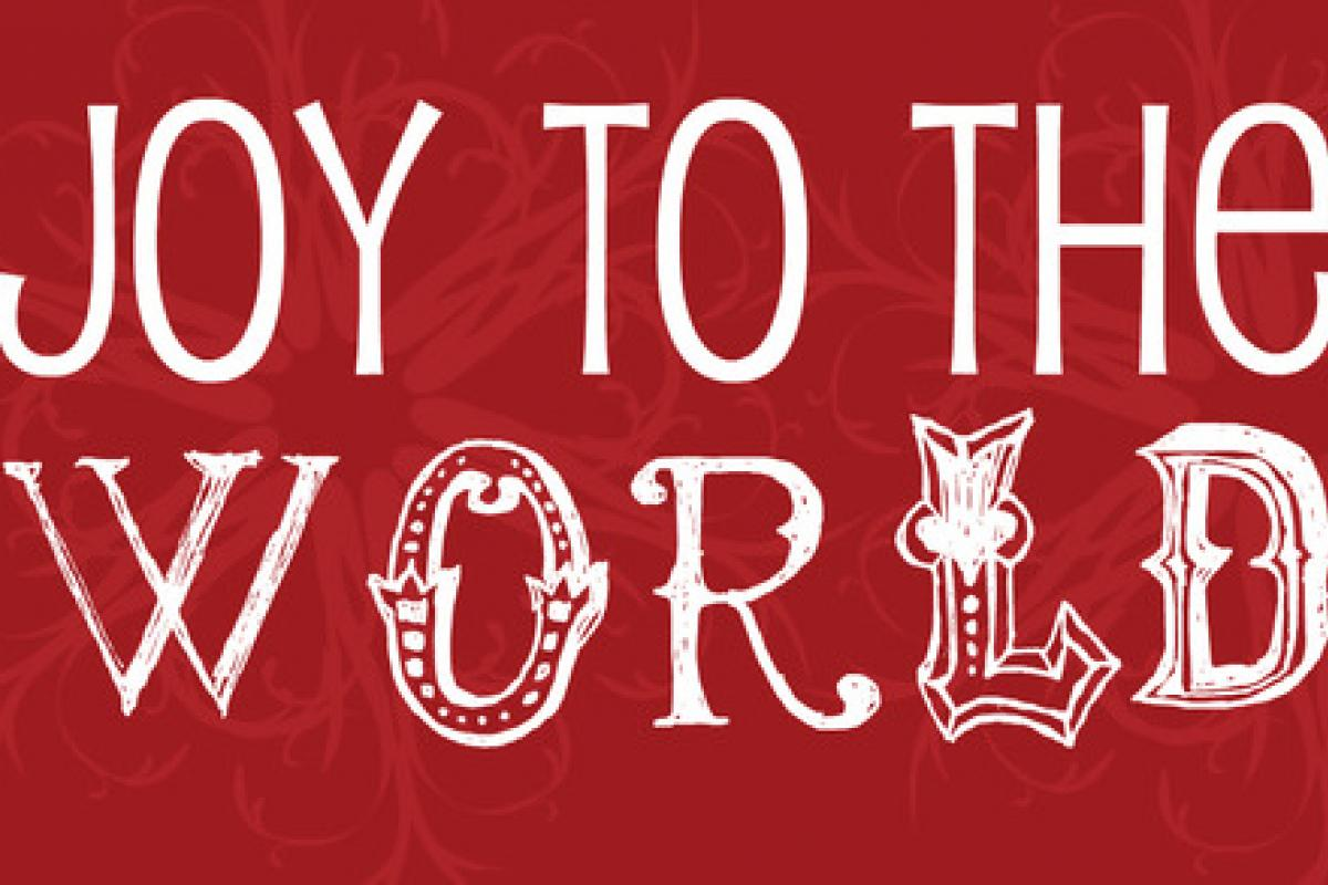 Joy to the World:  Because of God's Pursuit