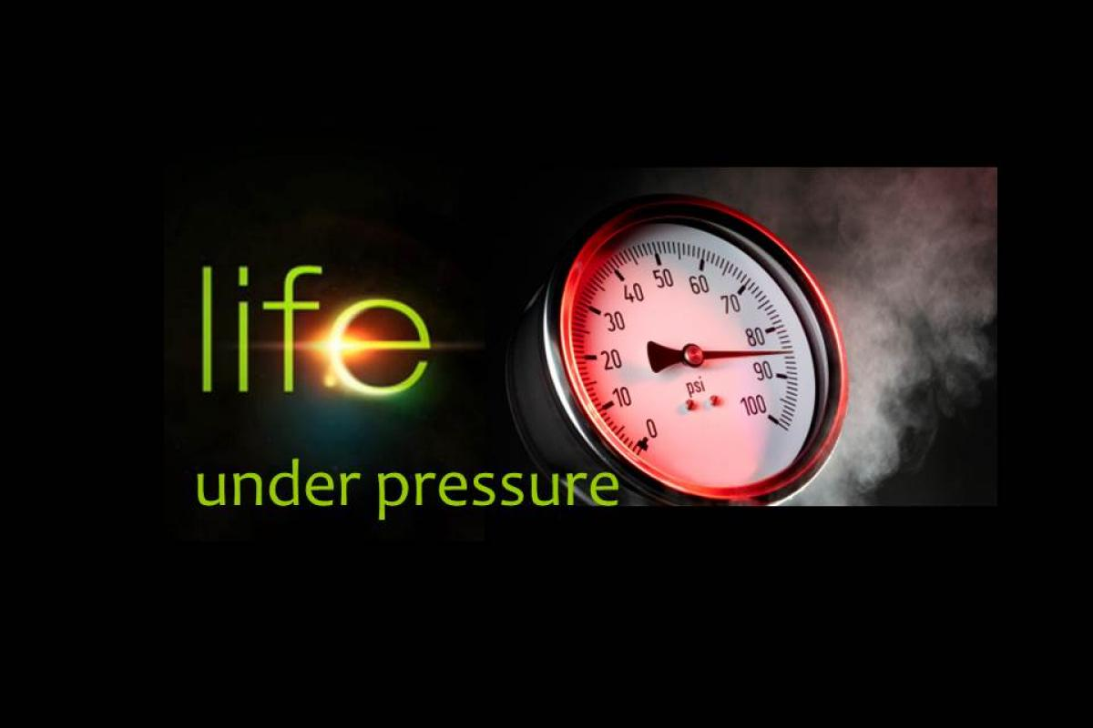 Life Under Pressure:  Talk it Out